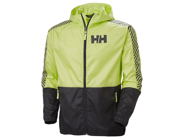 Helly Hansen Active Veste Coupe-vent Homme, sunny lime